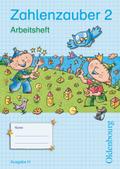 Zahlenzauber, Ausgabe H: 2. Schuljahr, Arbeitsheft mit eingelegtem Lösungsheft