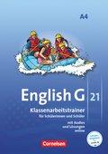 English G 21, Ausgabe A: 8. Schuljahr, Klassenarbeitstrainer; Bd.4