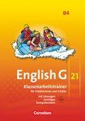 English G 21, Ausgabe B: 8. Schuljahr, Klassenarbeitstrainer und Audios online; Bd.4
