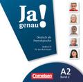 Ja genau! - Deutsch als Fremdsprache: Audio-CD für den Kursraum; Bd.A2/2