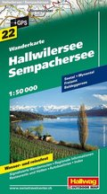Hallwag Outdoor Map Hallwilersee, Sempachersee
