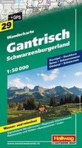 Hallwag Outdoor Map Gantrisch, Schwarzenburgerland