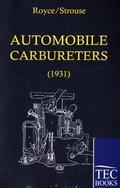 Automobile Carbureters, 2 Vols.