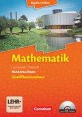 Mathematik, Gymnasiale Oberstufe Niedersachsen: Gesamtband Qualifikationsphase, Schülerbuch m. CD-ROM