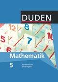 Duden Mathematik, Ausgabe Gymnasium Thüringen: 5. Schuljahr, Lehrbuch
