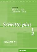 Schritte plus - Deutsch als Fremdsprache: Glossar Deutsch-Thai; Bd.1/2