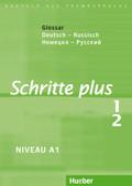 Schritte plus - Deutsch als Fremdsprache: Glossar Deutsch-Russisch; Bd.1/2