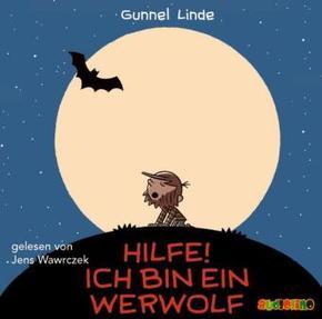 Hilfe! Ich bin ein Werwolf, 2 Audio-CDs