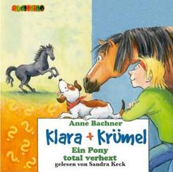 Klara & Krümel, Audio-CDs: Ein Pony total verhext, 2 Audio-CDs