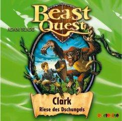 Beast Quest - Clark, Riese des Dschungels, 1 Audio-CD