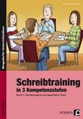Schreibtraining in 3 Kompetenzstufen - Bd.1