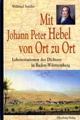 Mit Johann Peter Hebel von Ort zu Ort