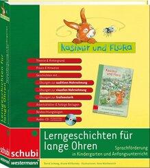 Kasimir & Flora - Lerngeschichten für lange Ohren, m. Audio-CD