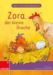 Zora, der kleine Drache, Mein Schreibbilderbuch