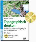 Topographisch denken, m. CD-ROM