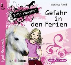 Soko Ponyhof - Gefahr in den Ferien, 2 Audio-CDs
