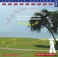Englisch-Phrasen spielerisch erlernt, 1 Audio-CD - Tl.2