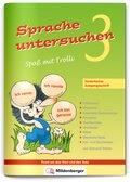 Sprache untersuchen - Spaß mit Trolli, Vereinfachte Ausgangsschrift: 3. Schuljahr