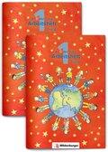 ABC der Tiere: 1. Schuljahr, 2 Arbeitshefte m. CD-ROM - Tl.A+B