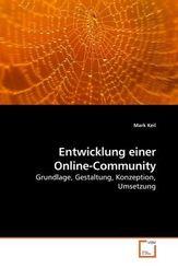 Entwicklung einer Online-Community (eBook, PDF)