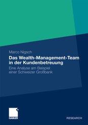 Das Wealth-Management-Team in der Kundenbetreuung