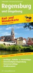 PublicPress Rad- und Wanderkarte Regensburg und Umgebung