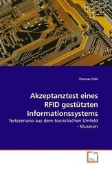 Akzeptanztest eines RFID gestützten Informationssystems (eBook, PDF)