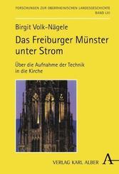 Das Freiburger Münster unter Strom