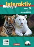 Biologie interaktiv, Ausgabe Realschule Nordrhein-Westfalen: Schülerbuch, m. DVD-ROM; Bd.3