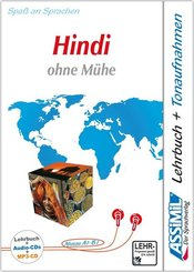 Assimil Hindi ohne Mühe - Lehrbuch + 4 Audio-CDs + 1 mp3-CD