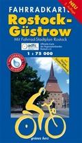 Fahrradkarte Rostock, Güstrow