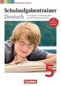Deutschbuch, Realschule Bayern: 5. Jahrgangsstufe, Schulaufgabentrainer