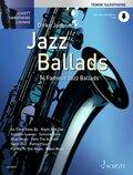 Jazz Ballads, für Tenor-Saxophon, Einzelstimme u. Klaviersatz