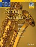 Swing Standards, für Tenor-Saxophon, Einzelstimme u. Klaviersatz, m. Audio-CD