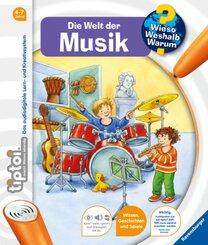 tiptoi®: Die Welt der Musik - Wieso? Weshalb? Warum? tiptoi Bd.3