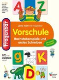 Fragenbär, Vorschule - Buchstabenspiele und erstes Schreiben