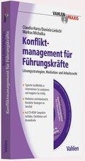 Konfliktmanagement für Führungskräfte, m. CD-ROM