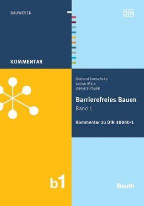 Barrierefreies Bauen - Bd.1