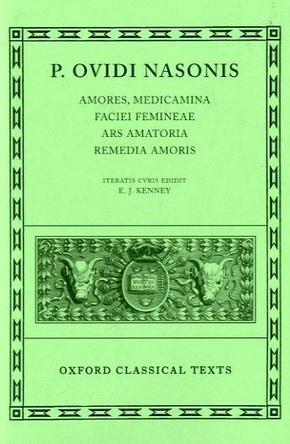 'Amores', 'Medicamina Faciei Femineae', 'Ars Amatoria', 'Remedia Amoris'