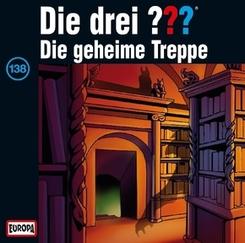 Die drei Fragezeichen - Die geheime Treppe, 1 Audio-CD