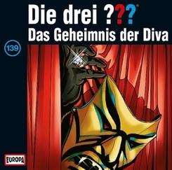 Die drei Fragezeichen - Das Geheimnis der Diva, 1 Audio-CD