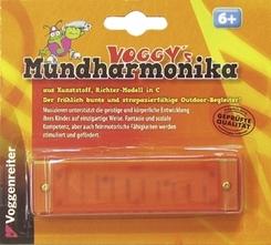 Voggy's Mundharmonika (Kunststoff-Kinder-Mundharmonika)