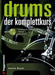 Drums. Der Komplettkurs, m. Audio-CD