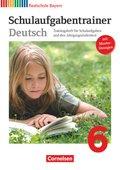 Deutschbuch, Realschule Bayern: 6. Jahrgangsstufe, Schulaufgabentrainer