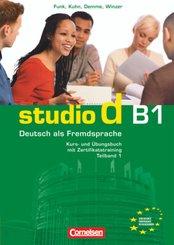 studio d, Grundstufe: Studio d - Deutsch als Fremdsprache - Grundstufe - B1: Teilband 1; B1 - Tl.1