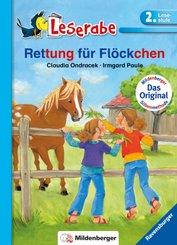 Rettung für Flöckchen - Leserabe 2. Klasse - Erstlesebuch für Kinder ab 7 Jahren