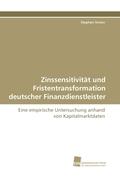 Zinssensitivität und Fristentransformation deutscher Finanzdienstleister