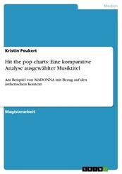 Hit the pop charts: Eine komparative Analyse ausgewählter Musiktitel