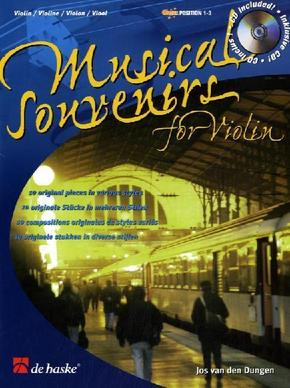 Musical Souvenirs for Violin, m. Audio-CD