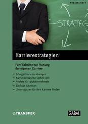 Arbeitsheft Karrierestrategien